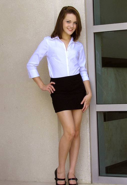 work Short skirts at